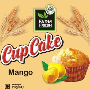 Farm Fresh Mango Cup Cake